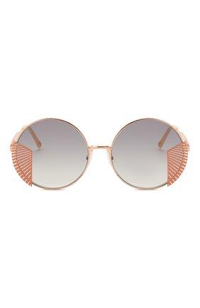 Женские солнцезащитные очки OXYDO золотого цвета, арт. 0.N0 2.2 DDB | Фото 3
