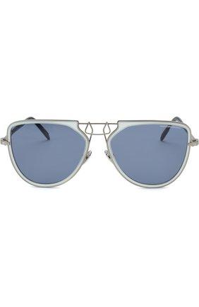 Женские солнцезащитные очки CALVIN KLEIN 205W39NYC темно-синего цвета, арт. CK1874 450 | Фото 2