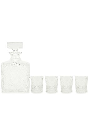 Набор из штофа и 4-х стаканов для виски Aberdeen Tsar #color# | Фото №1