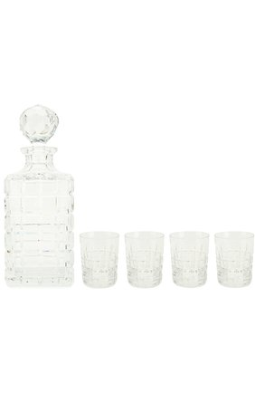 Набор  из штофа и 4-х стаканов для виски Vladimir | Фото №1
