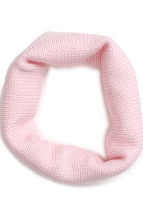 Шерстяной шарф-снуд   Фото №1