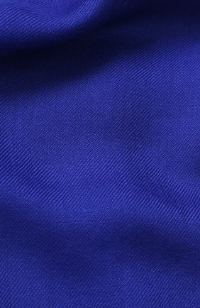 Мужской кашемировый шарф GIORGIO ARMANI синего цвета, арт. 745212/7A118 | Фото 2