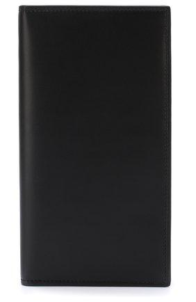 Мужской кожаный футляр для кредитных карт BRIONI темно-синего цвета, арт. 0HAM0L/07709 | Фото 1