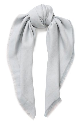 Платок из смеси шерсти и хлопка с шелком | Фото №1