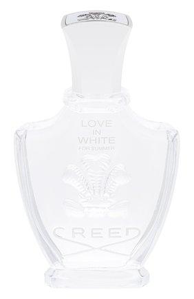 Парфюмерная вода love in white for summer CREED бесцветного цвета, арт. 1107567   Фото 1