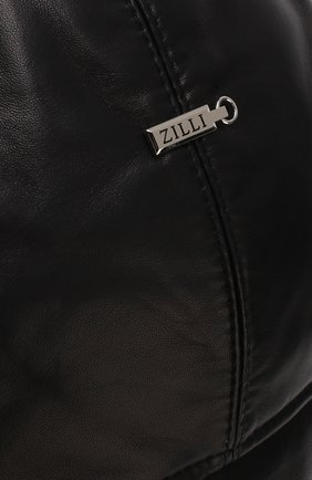 Мужская меховая шапка-ушанка ZILLI темно-синего цвета, арт. HZ0RS0-01005/00K0 | Фото 5