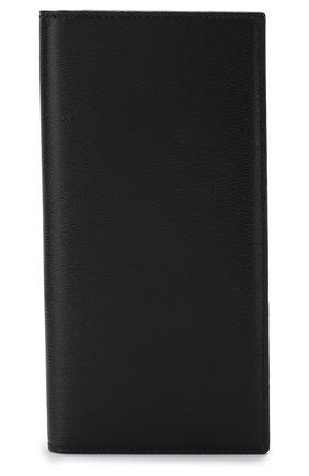 Мужской кожаный футляр для кредитных карт SMYTHSON черного цвета, арт. 1011363 | Фото 1