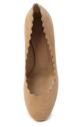 Замшевые туфли Lauren с фигурным вырезом   Фото №5