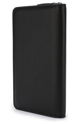 Мужская кожаный футляр для документов на молнии BRIONI черного цвета, арт. 0HQL0L/07710 | Фото 2