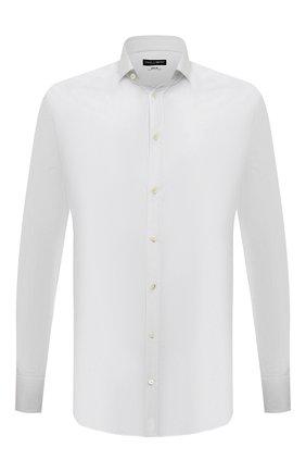Мужская хлопковая сорочка DOLCE & GABBANA белого цвета, арт. G5EJ0T/FU5K9 | Фото 1