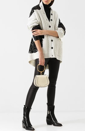 Женская сумка nile small CHLOÉ белого цвета, арт. CHC17US301HEU | Фото 2