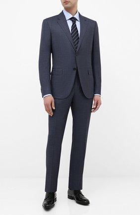 Мужская хлопковая сорочка ETON голубого цвета, арт. 3000 79312 | Фото 2