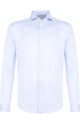 Мужская хлопковая сорочка ETON синего цвета, арт. 3000 73811 | Фото 1