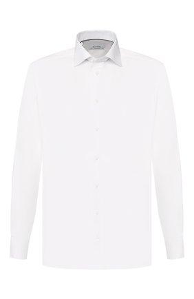 Мужская хлопковая сорочка с воротником кент ETON белого цвета, арт. 3548 79311 | Фото 1