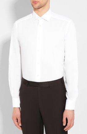 Мужская хлопковая сорочка с воротником кент ETON белого цвета, арт. 3548 79311 | Фото 3