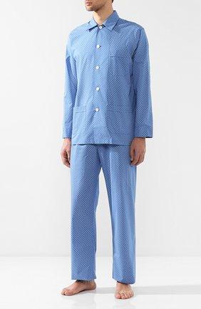Хлопковая пижама с узором | Фото №1
