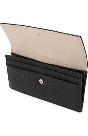 Кожаный кошелек с клапаном Kate Spade New York разноцветного цвета   Фото №3