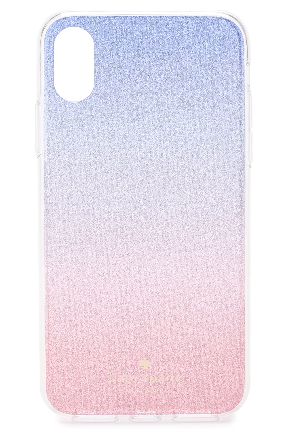 Чехол для iPhone X с глиттером | Фото №1