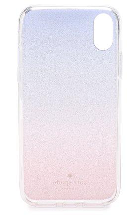 Чехол для iPhone X с глиттером Kate Spade New York  | Фото №2