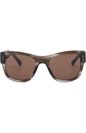 Мужские солнцезащитные очки DOLCE & GABBANA коричневого цвета, арт. 4338-318773 | Фото 2