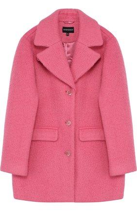 Однобортное пальто из шерсти прямого кроя | Фото №1