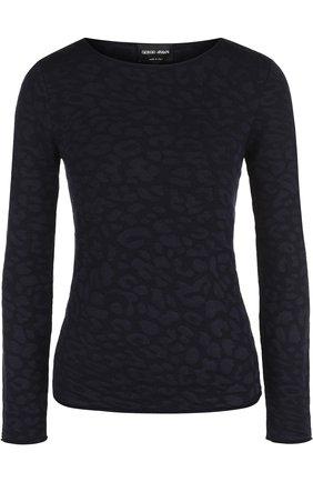 Пуловер из смеси шерсти и вискозы с кашемиром | Фото №1