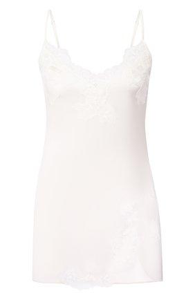 Женская шелковая сорочка COTTON CLUB кремвого цвета, арт. 3VB | Фото 1