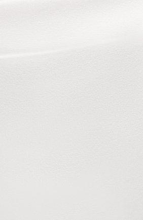 Женские шелковые шорты COTTON CLUB кремвого цвета, арт. 6ZM | Фото 5 (Женское Кросс-КТ: Шорты; Материал внешний: Шелк; Длина Ж (юбки, платья, шорты): Мини; Статус проверки: Проверено)
