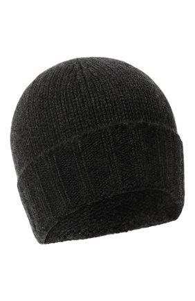 Мужская кашемировая шапка GRAN SASSO темно-серого цвета, арт. 10186/15529   Фото 1