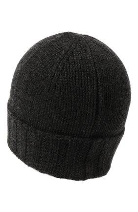 Мужская кашемировая шапка GRAN SASSO темно-серого цвета, арт. 10186/15529   Фото 2