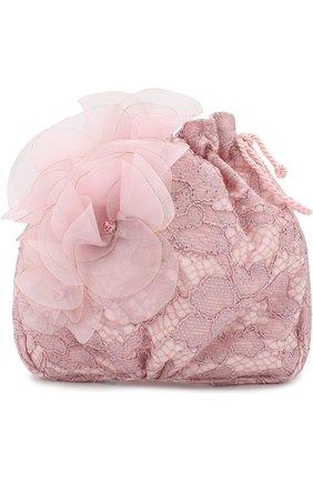 Текстильная сумка с декором | Фото №1