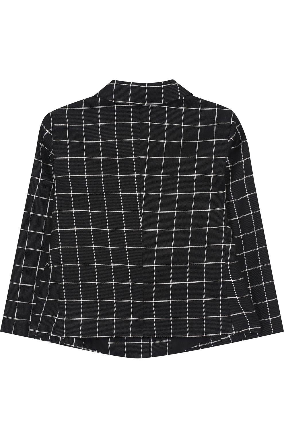 Пиджак из вискозы и шерсти на двух пуговицах | Фото №2