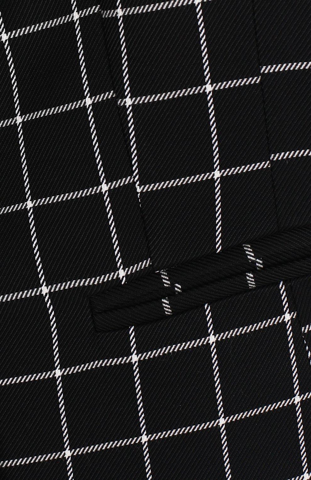 Пиджак из вискозы и шерсти на двух пуговицах | Фото №3