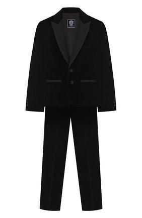Хлопковый костюм из пиджака и брюк | Фото №1
