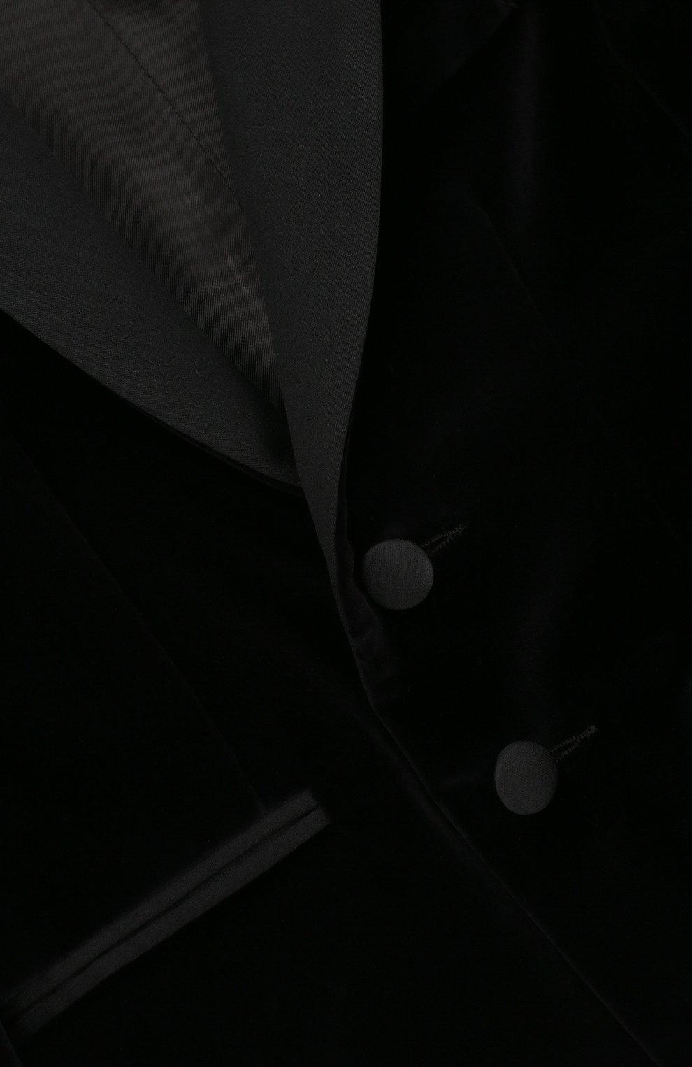 Хлопковый костюм из пиджака и брюк | Фото №3
