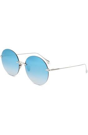 Солнцезащитные очки Frency&Mercury голубые | Фото №1