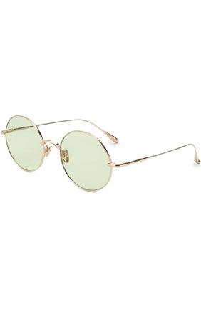 Солнцезащитные очки Frency&Mercury светло-зеленые | Фото №1