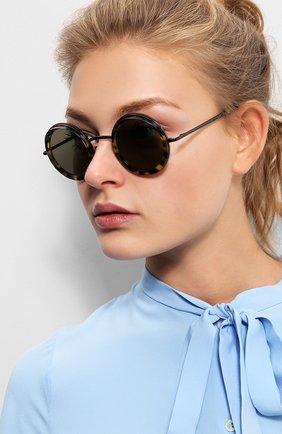 Солнцезащитные очки CutlerandGross коричневые | Фото №1