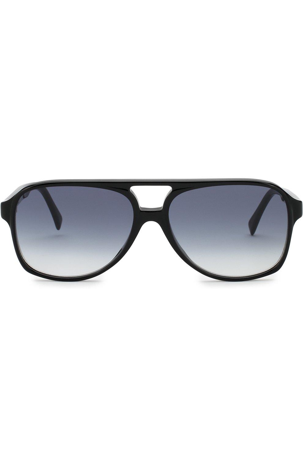 Женские солнцезащитные очки CELINE EYEWEAR черного цвета, арт. CL40032U 01B | Фото 3