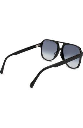 Женские солнцезащитные очки CELINE EYEWEAR черного цвета, арт. CL40032U 01B | Фото 4