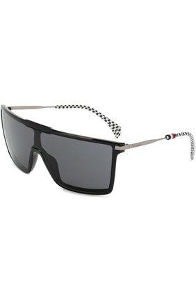 Солнцезащитные очки Tommy Hilfiger черные | Фото №1