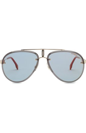 Мужские солнцезащитные очки CARRERA золотого цвета, арт. CARRERA GL0RY LKS   Фото 2 (Статус проверки: Проверена категория; Тип очков: С/з; Оптика Гендер: оптика-мужское)