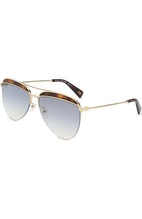 Женские солнцезащитные очки MARC JACOBS (THE) золотого цвета, арт. MARC 268 086 | Фото 1
