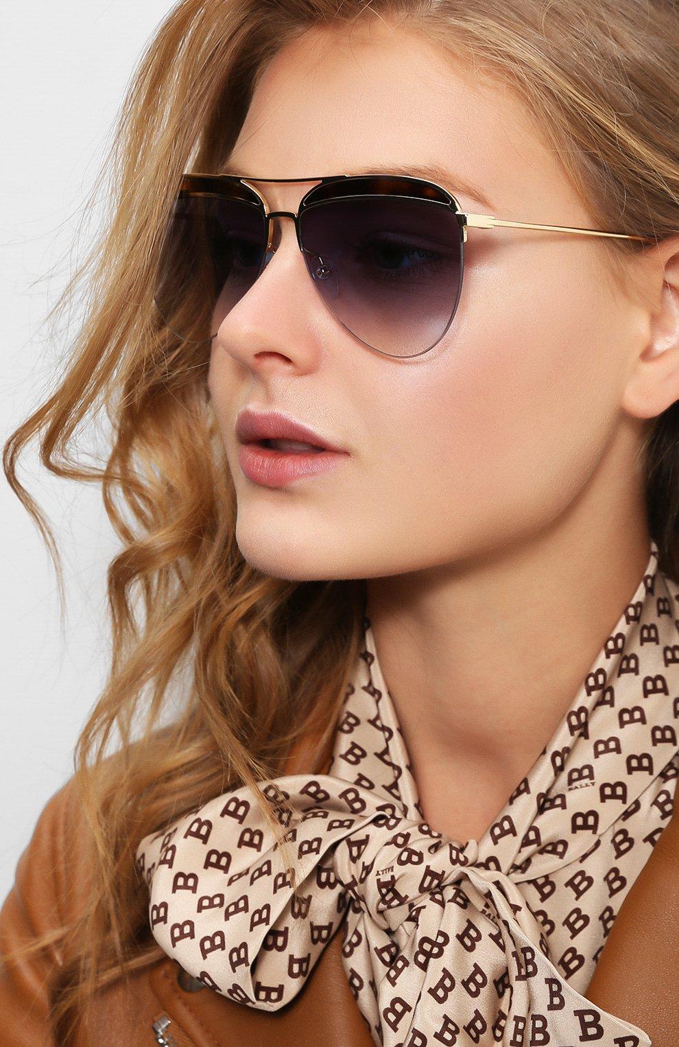 Женские солнцезащитные очки MARC JACOBS (THE) золотого цвета, арт. MARC 268 086 | Фото 2