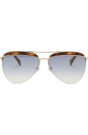 Женские солнцезащитные очки MARC JACOBS (THE) золотого цвета, арт. MARC 268 086 | Фото 3