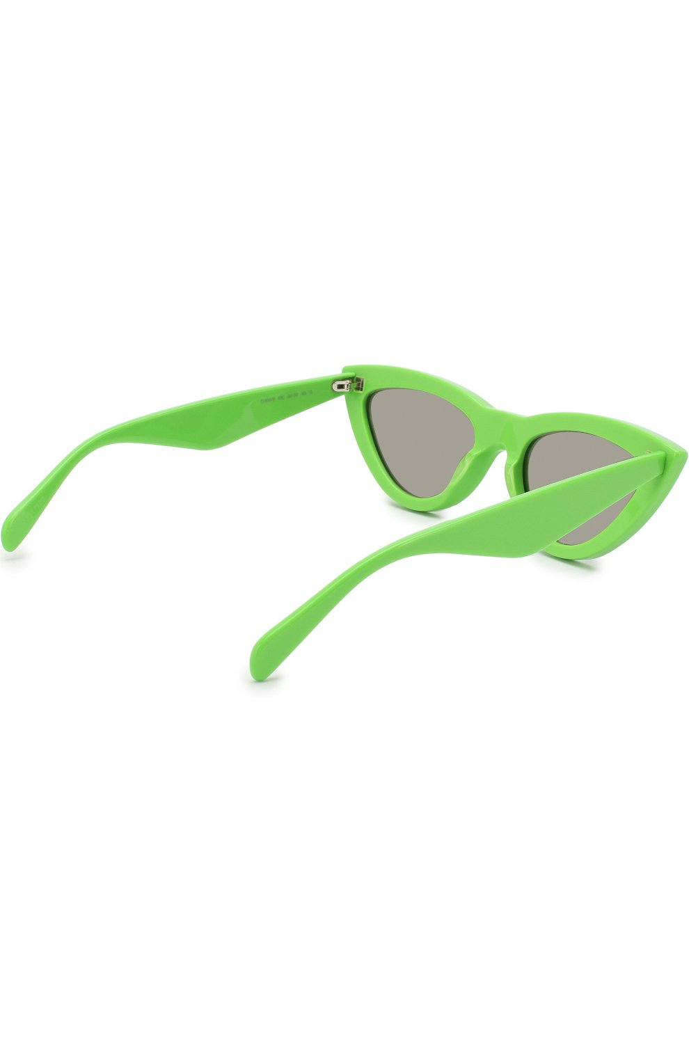 Женские солнцезащитные очки CELINE EYEWEAR зеленого цвета, арт. CL40019I 95C   Фото 4