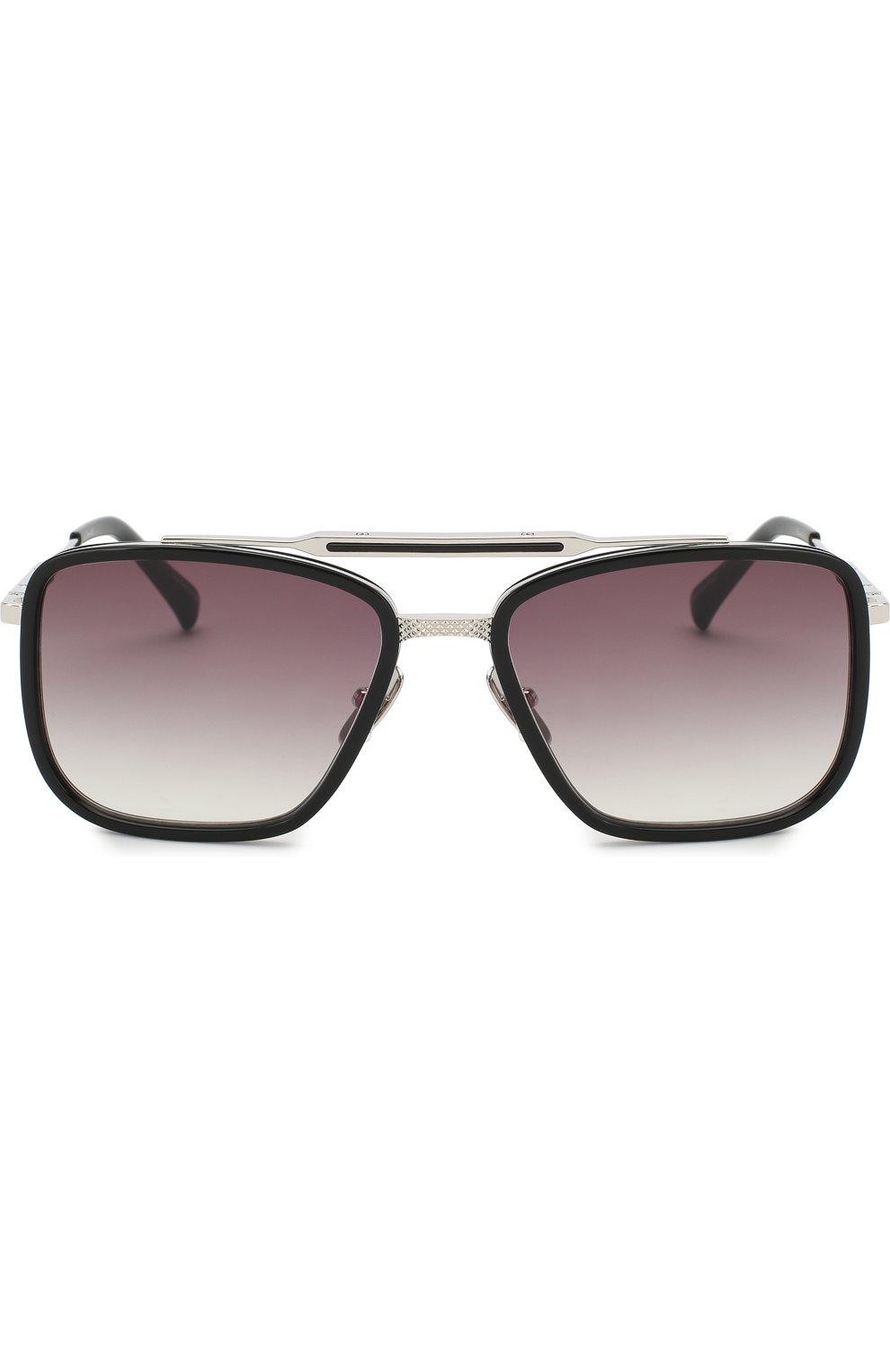 Мужские солнцезащитные очки FRENCY&MERCURY черного цвета, арт. THE VANTAGE/ABS SUN | Фото 2 (Тип очков: С/з; Очки форма: Прямоугольные; Оптика Гендер: оптика-мужское)