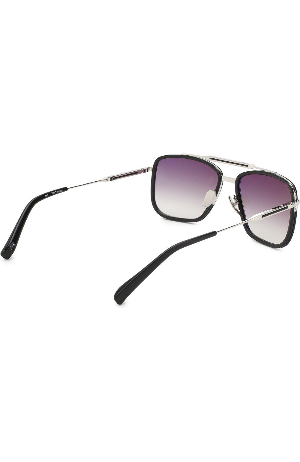 Мужские солнцезащитные очки FRENCY&MERCURY черного цвета, арт. THE VANTAGE/ABS SUN | Фото 3 (Тип очков: С/з; Очки форма: Прямоугольные; Оптика Гендер: оптика-мужское)