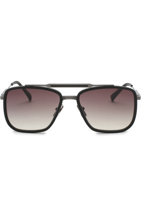 Солнцезащитные очки Frency&Mercury черные | Фото №1