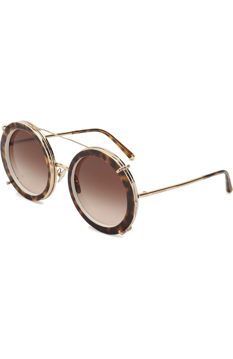 Солнцезащитные очки Dolce & Gabbana разноцветные | Фото №6